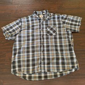 Red Head Brand Co plaid button down shirt XXXL